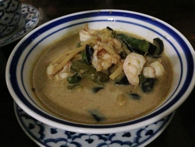 タイ料理 グリーンカレー
