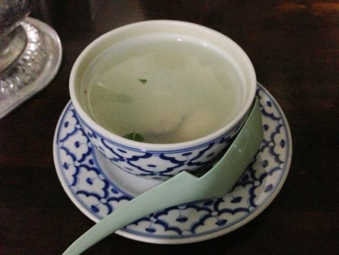 タイ料理 カキスープ