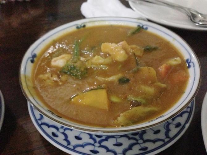 タイ料理 シーフードカレー