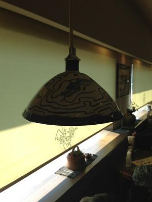 浜松 龍の子ラーメン ランプシェード