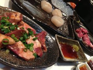 まつさか與 松阪牛 ハツコリ 海鮮盛り