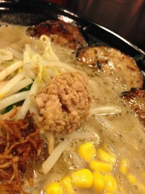 麺屋 蔵の助 こってり豚骨 蔵の助味噌 味噌炭火焼炙りチャーシュー麺